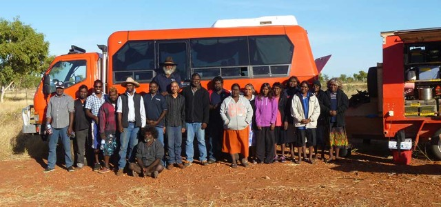 bus and team